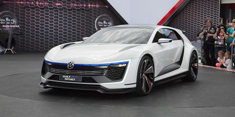 Volkswagen Golf GTE Sport concept debuts at Worthersee