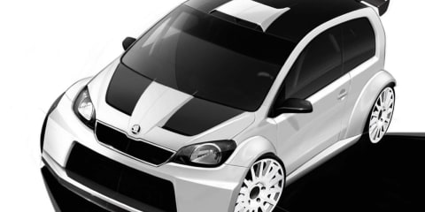 Skoda Citigo Rally concept teased