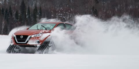 Nissan Altima-te AWD revealed in Canada