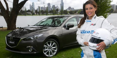 Mazda 3 confirmed for 2014 AGP Celebrity Challenge