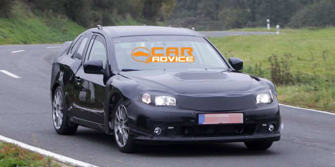 Subaru 'FT-86' STI version spy photos