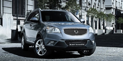 SsangYong Korando petrol likely for late 2012