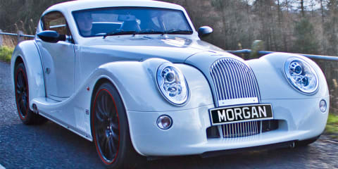 Morgan Plus E concept: Electric sports car with manual transmission