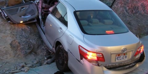 US police say faulty Toyota Camry likely cause of fatal crash