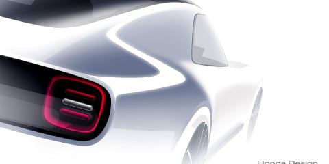 Honda Sports EV concept previewed: Retro coupe bound for Tokyo show
