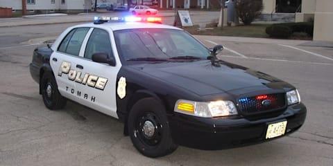 US police car battle continues, Rumbler siren video