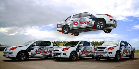 Isuzu D-MAX flies into Precision Driving Team sponsorship