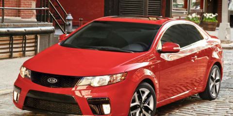 2009 Kia Koup unveiled in  New York