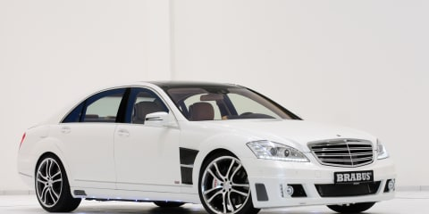 2011 Mercedes-Benz S350 BlueTec with Brabus ECO PowerXtra D6S kit