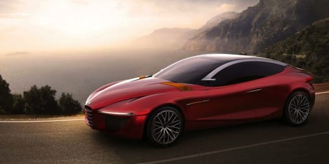 Alfa Romeo Gloria: student-designed concept set for Geneva