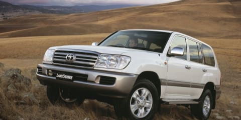Toyota LandCruiser and Lexus LX470 recall affects 4368 cars