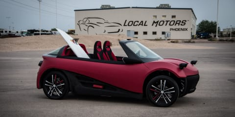 Local Motors LM3D Swim launched, 3D printed car on sale 2016