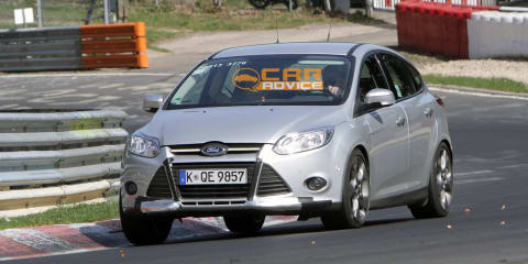 2012 Ford Focus ST (XR5) spy shots