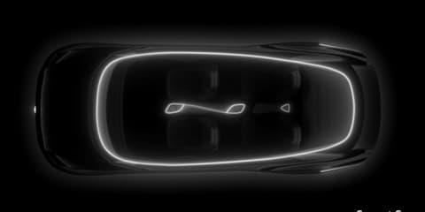 Volkswagen ID Vizzion interior teased