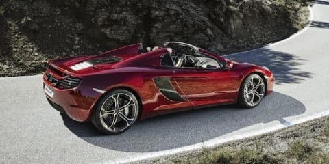 McLaren MP4-12C Spider: soft-top supercar let loose in Spain