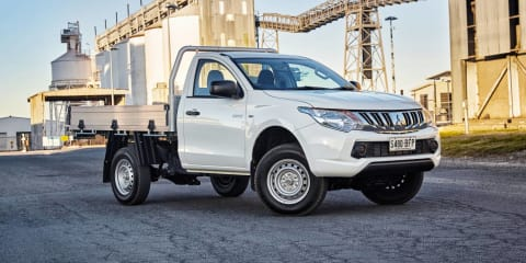 2016 Mitsubishi Triton recalled for tow rating sticker swap