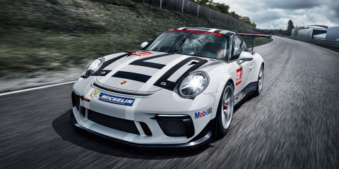 2017 Porsche 911 GT3 Cup race car unveiled