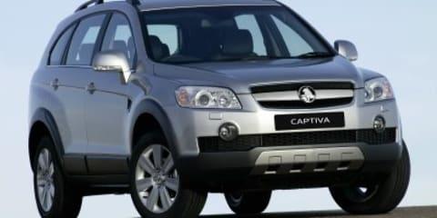 Holden Captiva SX CX LX MaXX