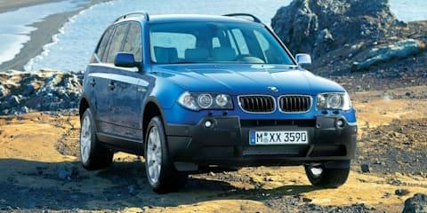 2004-07 BMW X3 added to Takata recall