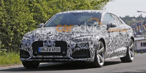 2018 Audi RS5 mule spied