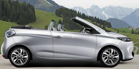 Renault Zoe cabriolet: open-air EV tests the water on Facebook