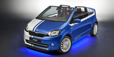 Skoda CitiJet concept created by apprentices for Wörthersee Festival