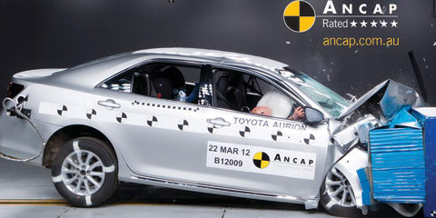 ANCAP: Five stars for Toyota Aurion, Kia Rio, Suzuki Swift Sport