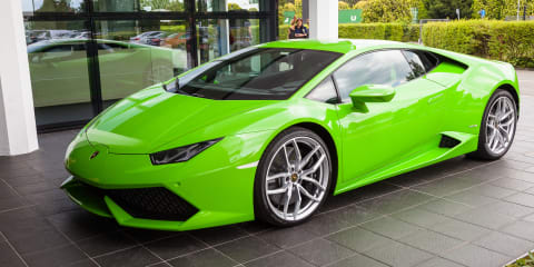 Lamborghini Factory Tour