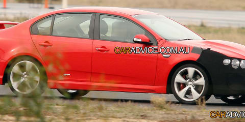 2010 FPV GT supercharged V8 'Coyote' spied!
