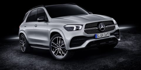 Mercedes-Benz GLE300d on sale in the UK