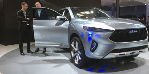 Haval HB-02, HR-02 SUV concepts preview future styling