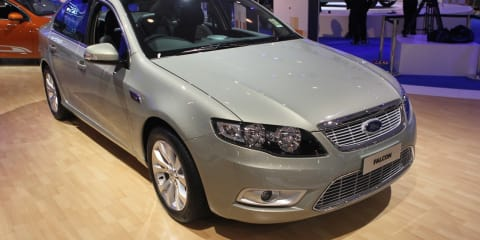 2011 Ford Falcon EcoLPI at Australian International Motor Show 2011