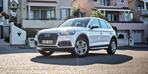2017 Audi Q5 design 2.0 TDI review