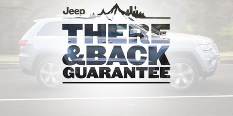 New 'There And Back' warranty program working for Jeep