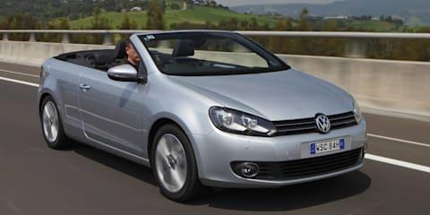 2012 Volkswagen Golf Cabriolet on sale in Australia
