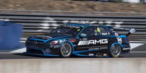 Mercedes-Benz AMG boss backflips on Erebus V8 Supercars team