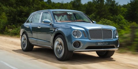 Bentley SUV: 485kW 12-cylinder 'as capable as a Range Rover off-road'