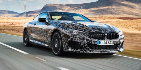 2019 BMW M8 roars around the Nurburgring - video