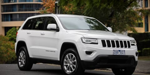 Jeep Grand Cherokee recalled