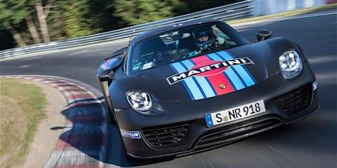 Porsche 918 Spyder smashes Nurburgring lap record