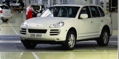 Porsche Cayenne hits quarter million