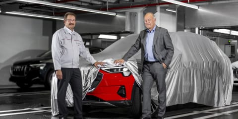 Audi e-tron quattro production kicks off