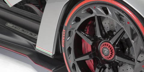 Lamborghini Veneno Roadster: nine units confirmed for production