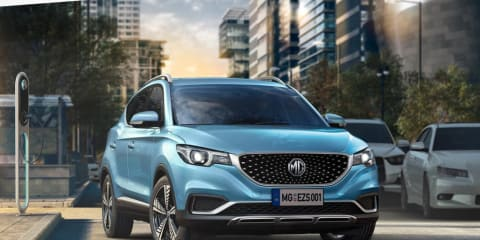 MG unveils eZS electric car