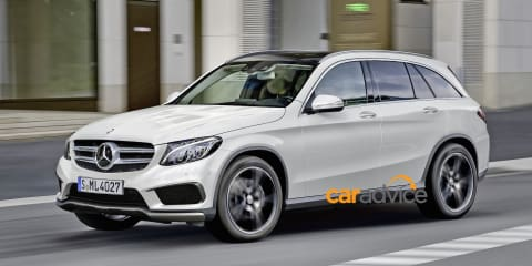 Mercedes-Benz GLC: GLK replacement spied and rendered