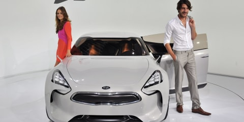 Kia GT Coupe - potential for hybrid or four-cylinder engine?