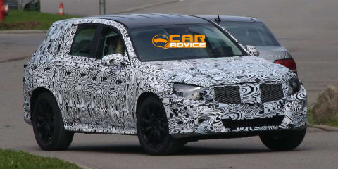 Mercedes-Benz GLK: second-gen mid-sized SUV spied