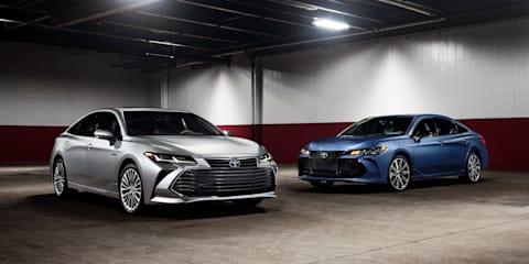 2019 Toyota Avalon revealed - UPDATE