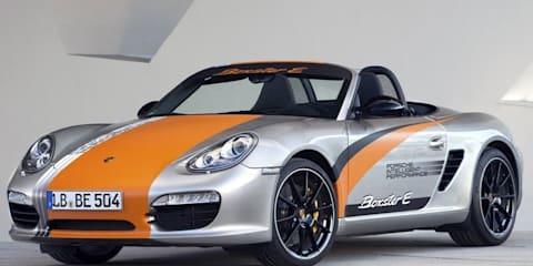 Porsche Boxster E testing begins
