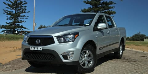 Ssangyong Actyon Sports Review